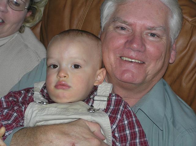 Jacob and Grandpa Morris